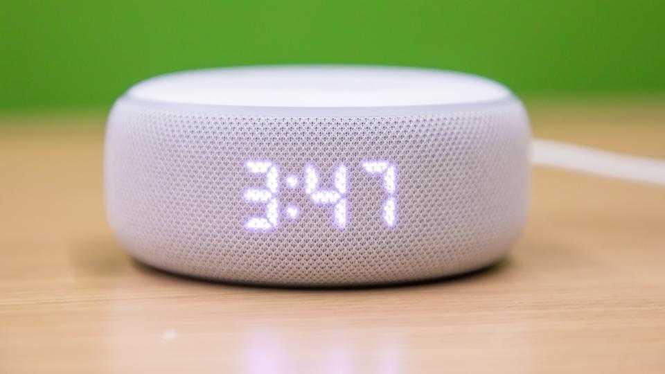 L'Echo Dot avec une horloge est maintenant à 35 £