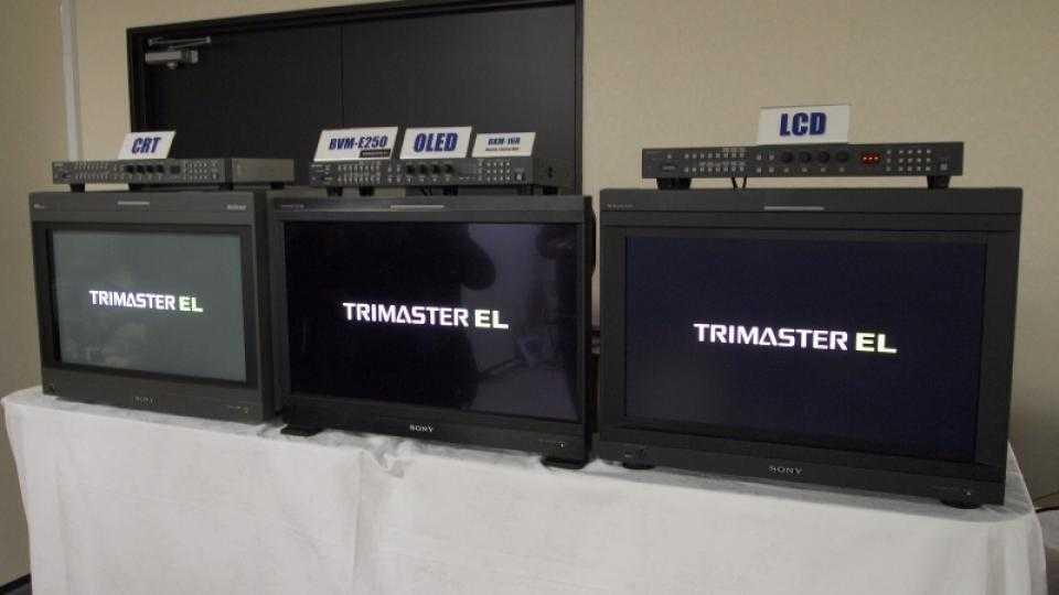 Le téléviseur pour les producteurs de télévision - pratique avec les moniteurs de référence OLED de Sony