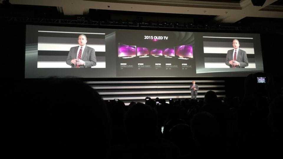 LG parie gros sur l'OLED et dévoile 7 nouveaux téléviseurs 4K OLED pour 2015