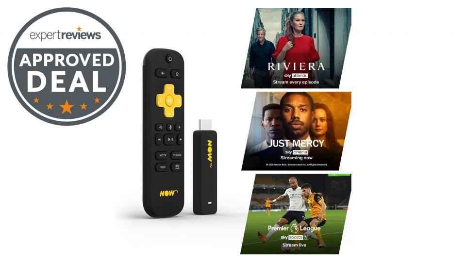 Offre Now TV Smart Stick: 10 £ de réduction ce Black Friday