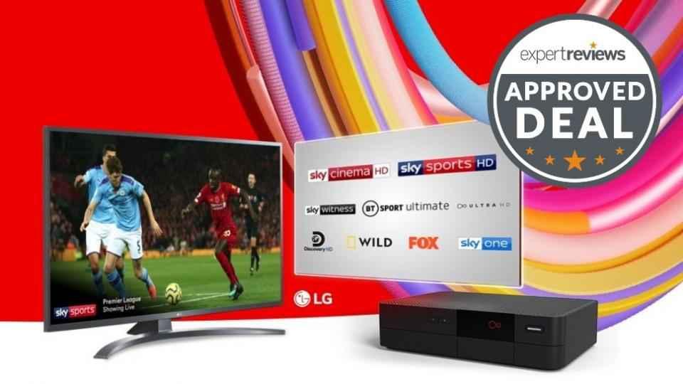 Obtenez un téléviseur 4K gratuit lorsque vous vous inscrivez à Virgin Media