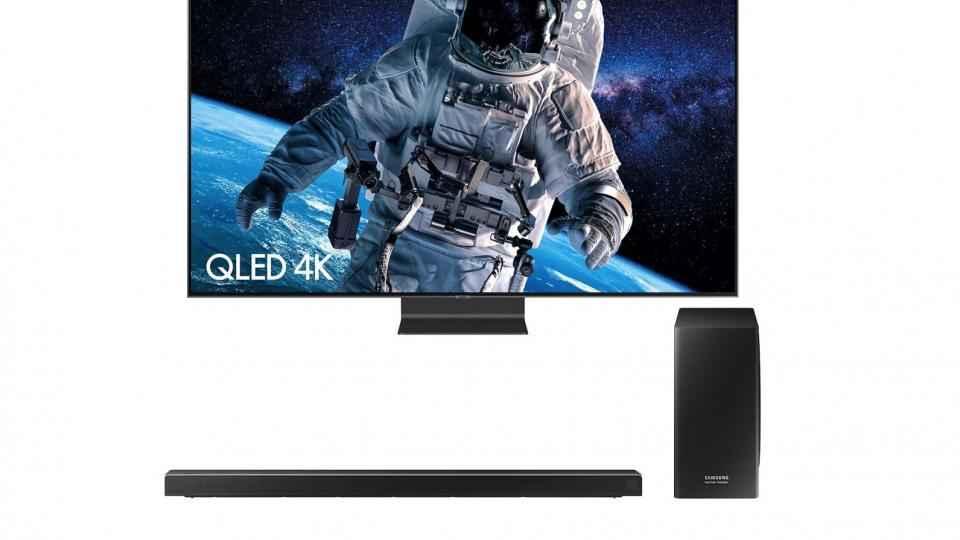 Offre Samsung TV: barre de son gratuite de 800 £ avec le téléviseur Q90R QLED