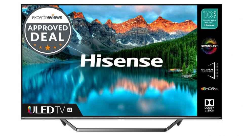 Oui, ce téléviseur QLED 4K 55 pouces de Hisense est vraiment aussi bon marché pour Prime Day
