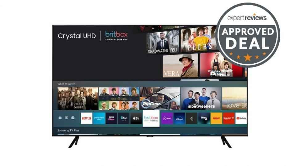 Offre Samsung TV: la télévision 4K tombe à 349 £ dans l'offre Black Friday