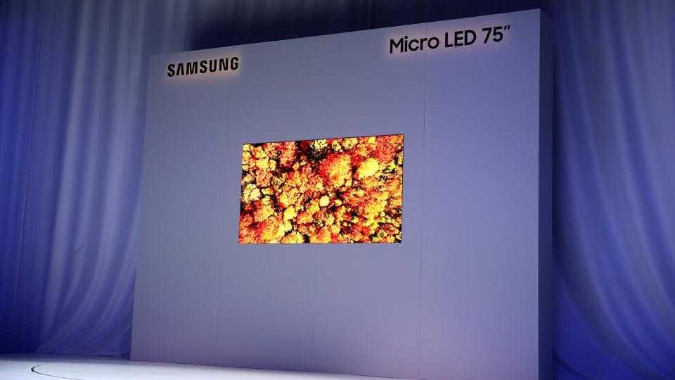 Qu'est-ce que la MicroLED? La technologie derrière le nouveau téléviseur 4K de Samsung